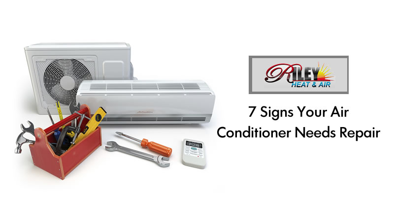 7 signs your Air conditioner needs repair